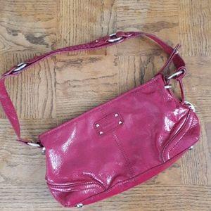 The Sak fuchsia shoulder bag Leather
